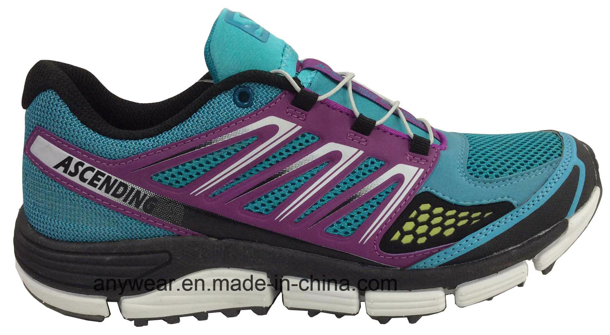Athletic Women Running Footwear Ladies Gym Sports Shoes (515-7517)