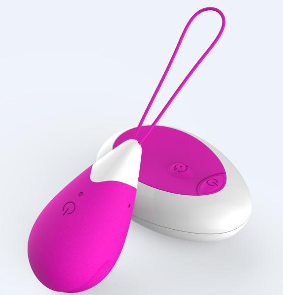 Female Sex Toy Vibrator Power Vibrating Love Egg with Factory Price