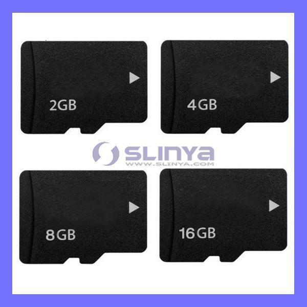Micro SD Storage Memory Card TF for Cell Phone Flash Card 128MB 256MB 1GB 2GB 8GB 32GB (SL-184)