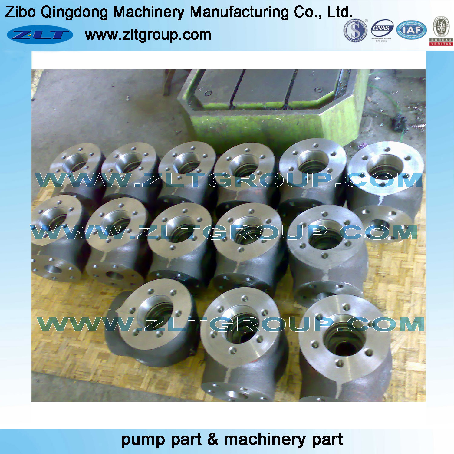 Alloy Forged Square Flange for Stainless Steel