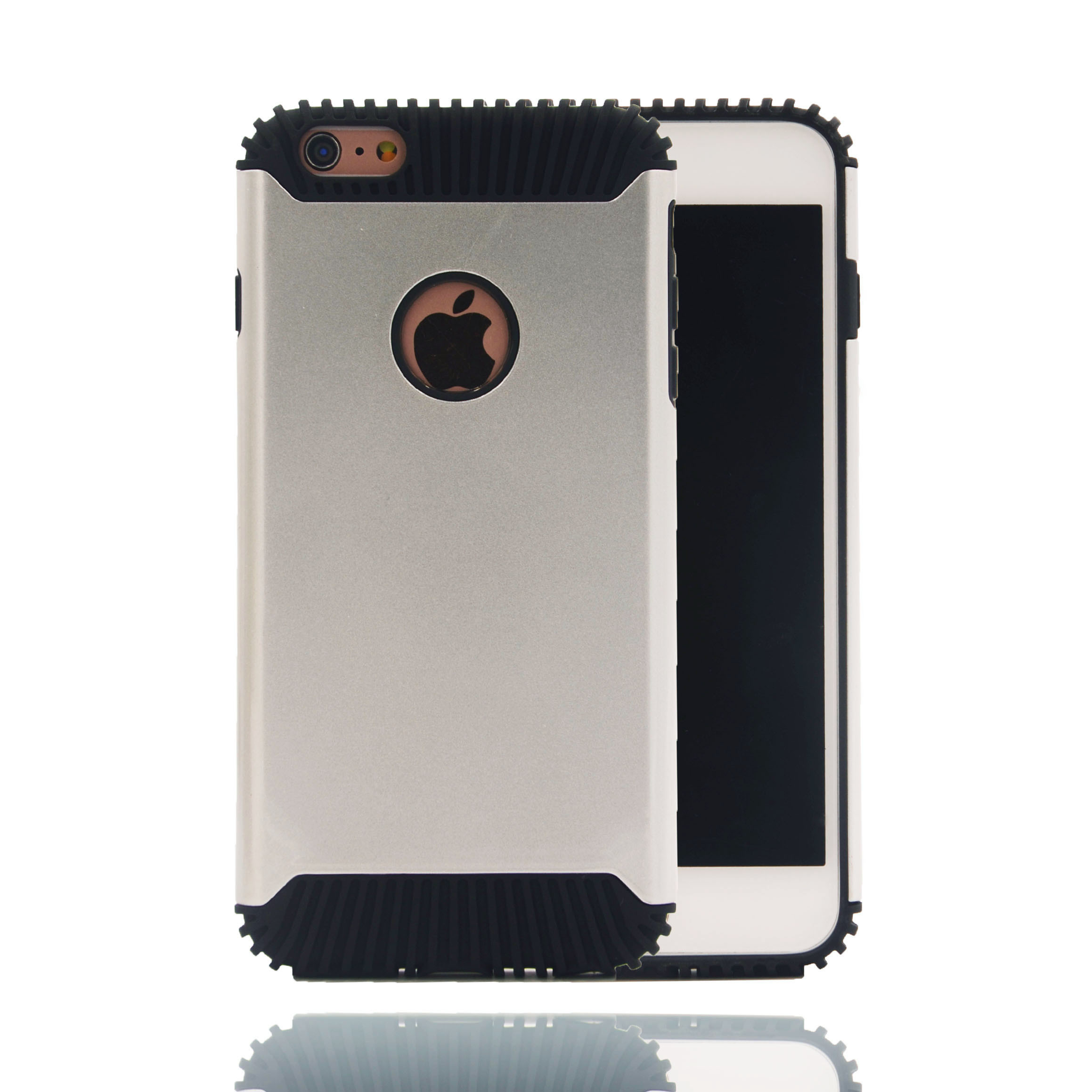 High Quality Soft TPU + Hard PC Mobile Phone Accessories for iPhone 6/6 Plus iPhone 7/7 Plus Case (XSEH-035)
