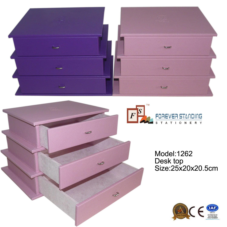 Dresser Drawers Desktop Jewelry and Cosmetic Organizer (1262)