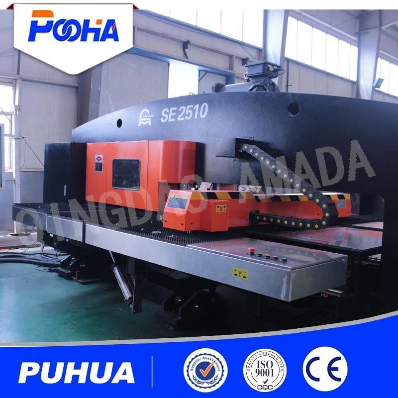 Sheet Metal Servo Driven Motor CNC Punching Machine Real Factory