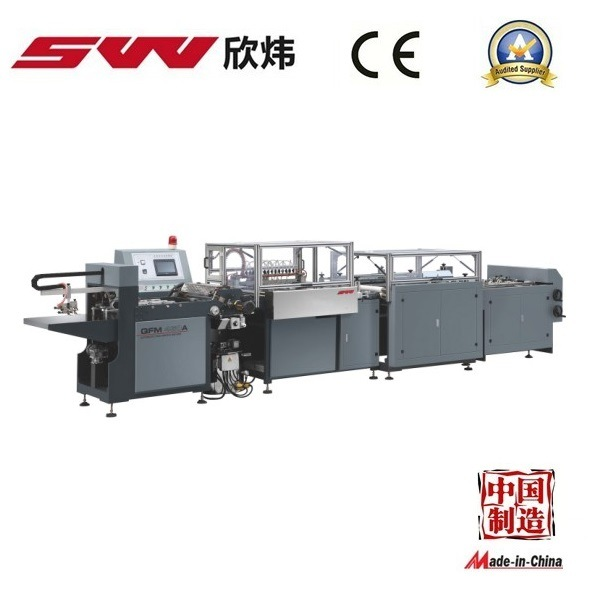 New Design Automatic Book Cover Machine (QFM-460B)
