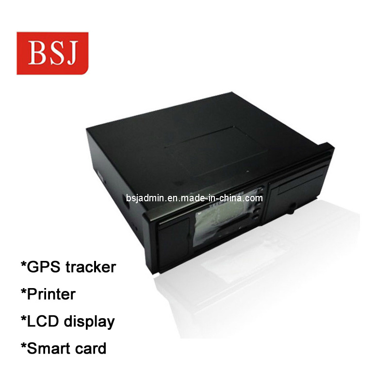 Car GPS Drive Recorder with Printer/Taximeter