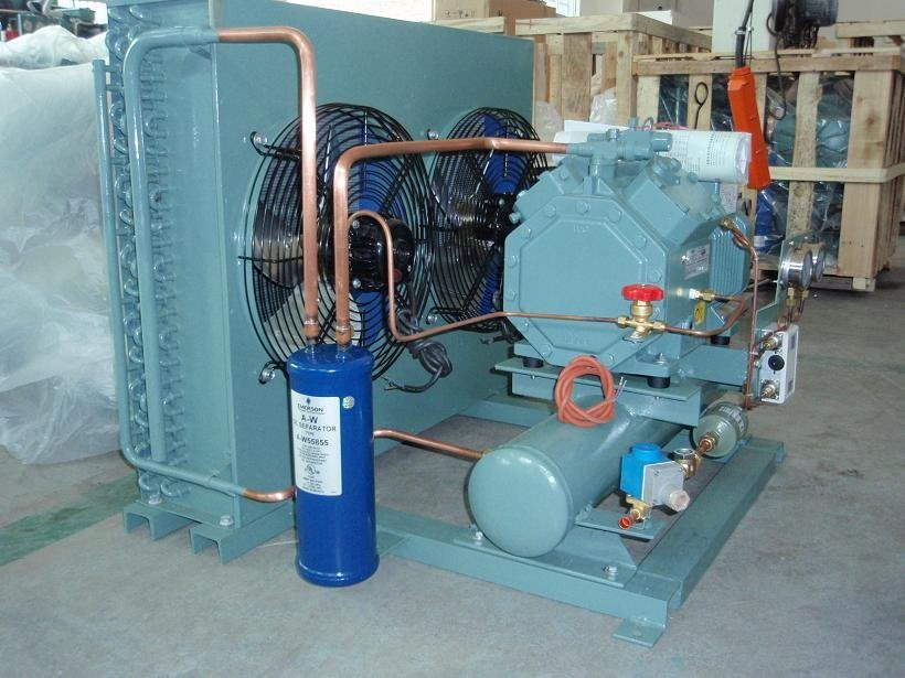 Condensing Unit Refrigerator for Cold Storage Room