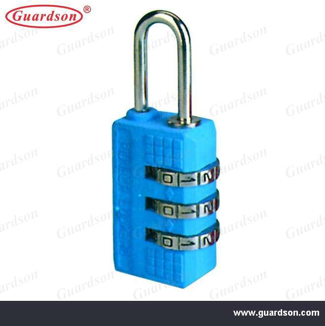 Resettable Combination Zinc Alloy Padlock (501052)