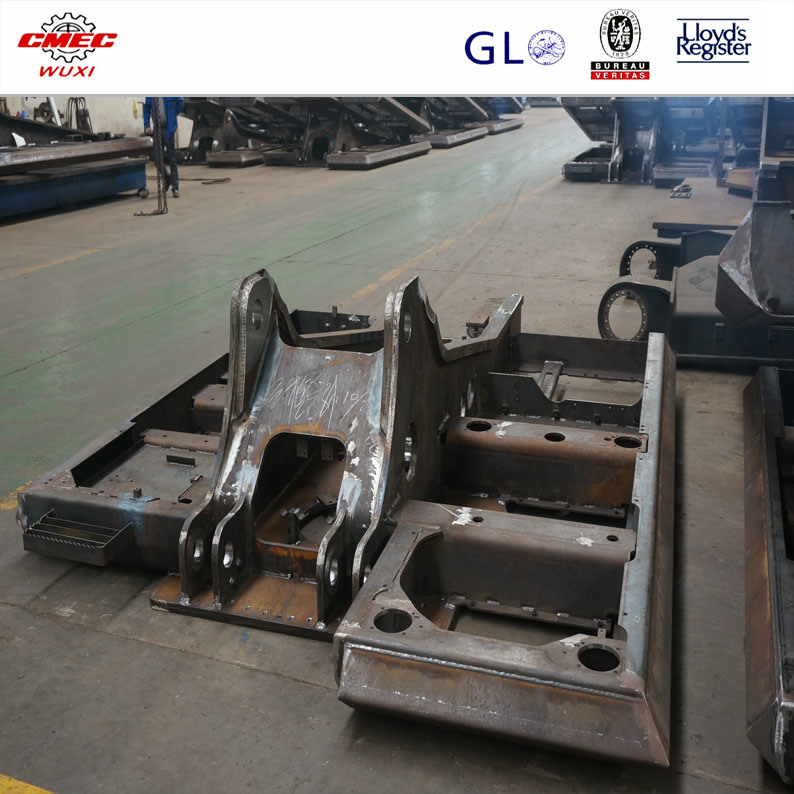 OEM Steel Fabrication Steel Rear and Front Frame Welding and Painting Service