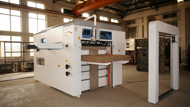 Semi-Automatic Flatbed Die Cutting Machine (1500A)