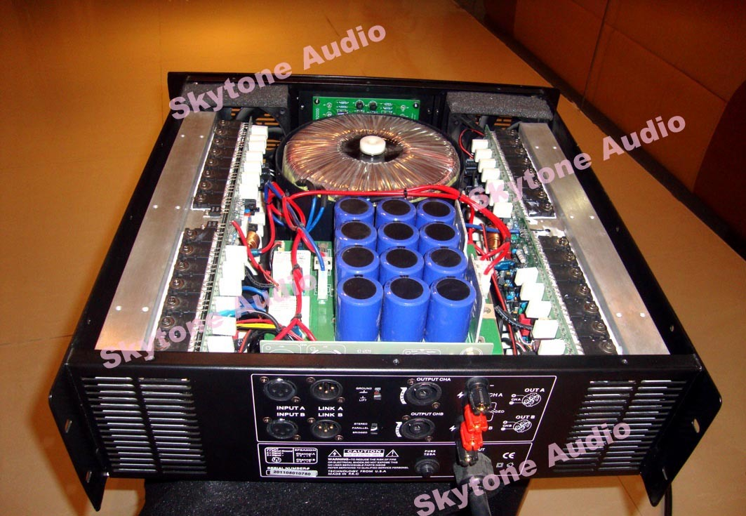 Unbelievable Professional High Power Amplifier (PK6000)