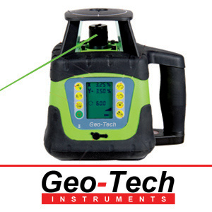 Rotary Laser Level Green Beam Dual Grade Grl600r