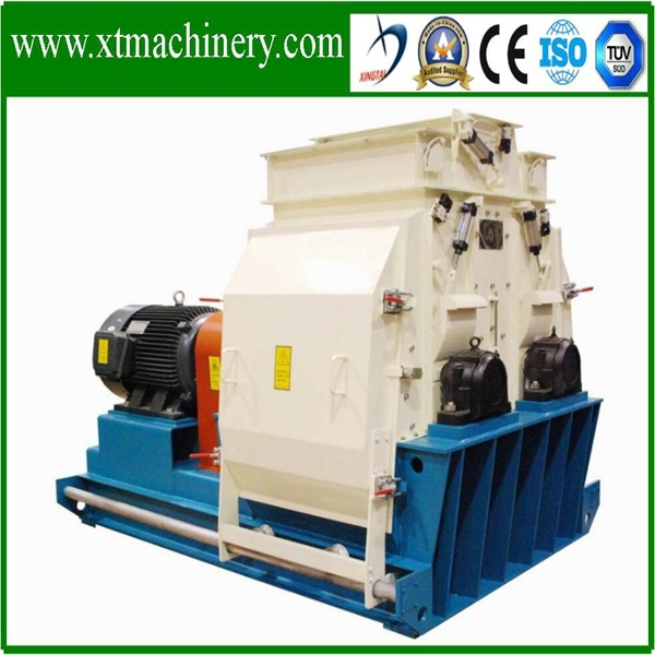 High Efficiency Corn Wood, Animal Feed Hammer Grinding Crusher