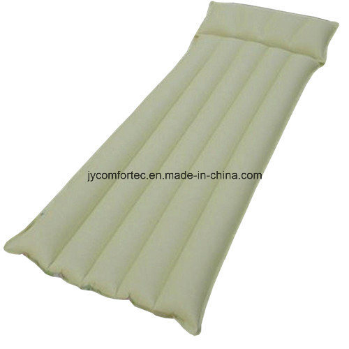 Tubular Type Rubber Cotton Air Bed for Camping and Swimming