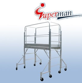 6 Ft. Aluminum Mobile Scaffold (SM-SA06)
