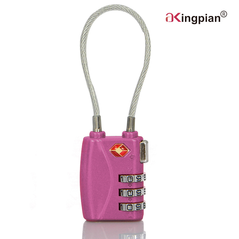 Tsa Luggage Digital Combination Code Lock with Cable