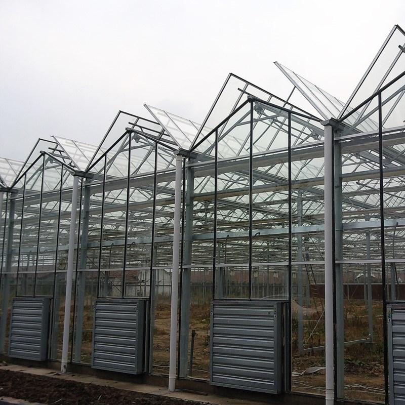 Venlo Glass Greenhouse Fv108g40