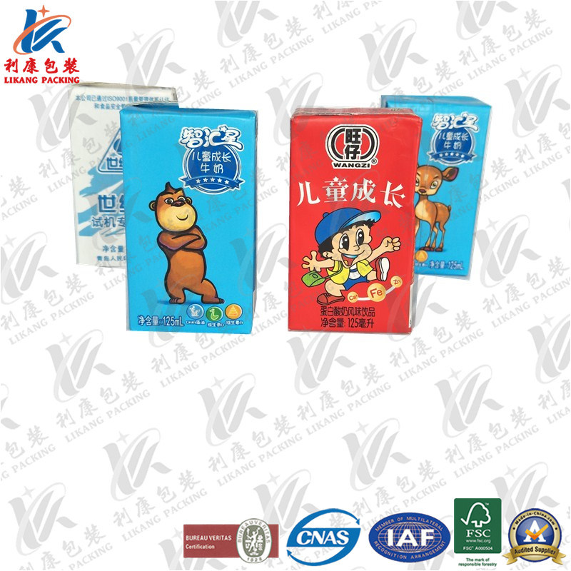 125ml Aseptic Packaging Carton for Kid