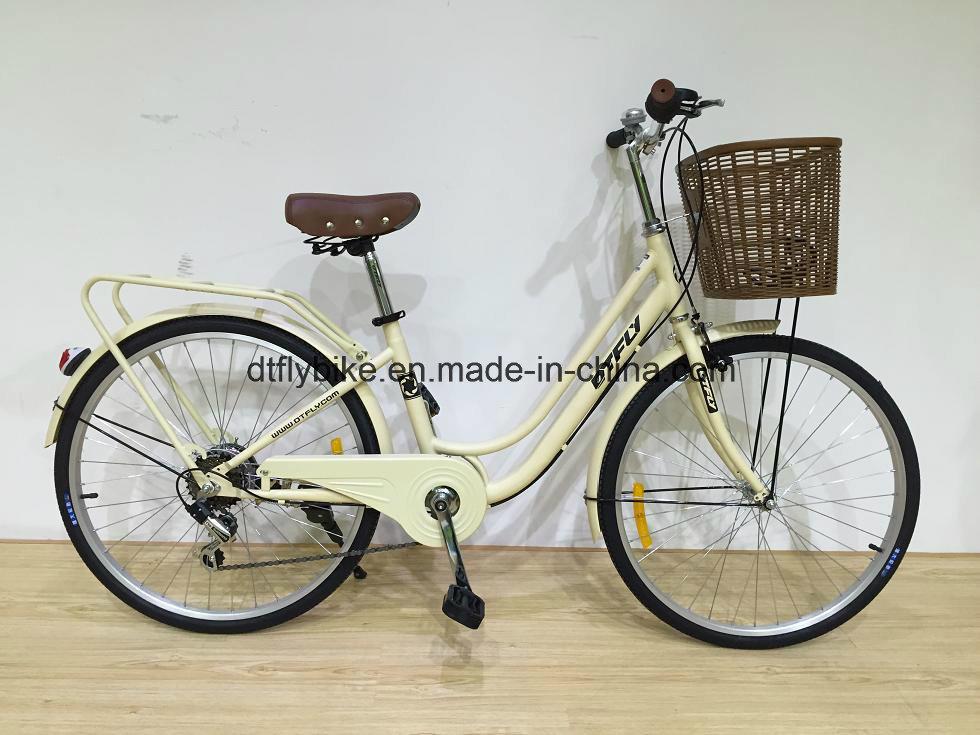 "24""Moer, City Bike, 6speed, Shimano"