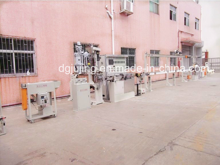 Manufacturing Equipment Teflon Cable Extrusion Line