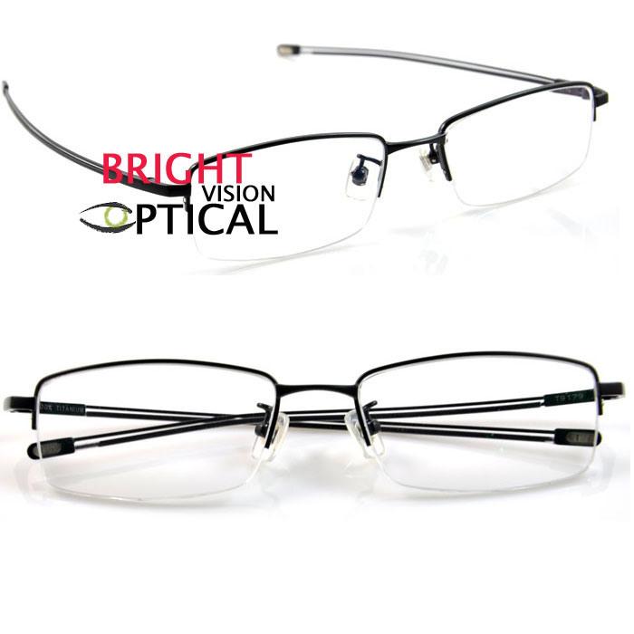 china s half frame titanium eyewear frames