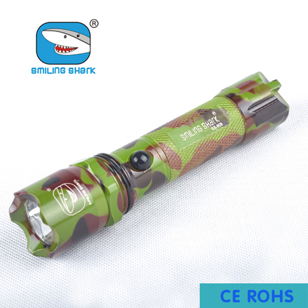 Portable High Power Flashlight Q5 CREE LED Rechargeable Torch