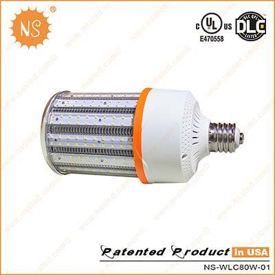 UL Dlc IP64 E39 Mogul Base 80W LED Retrofit Lamp