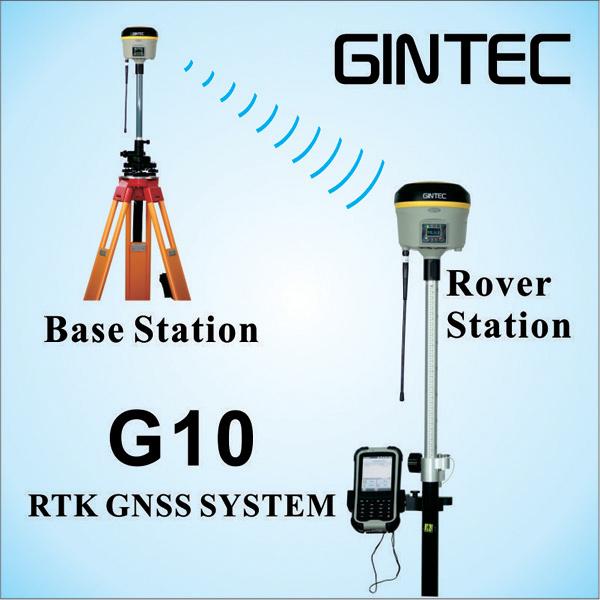 Intelligent Rtk GPS Receiver High Precision Surveying Instrument
