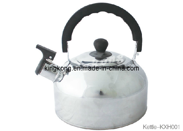 2.0L Promotional Whistling Kettle From China/Stainless Steel Kettle of Very Good Price (KXH001)