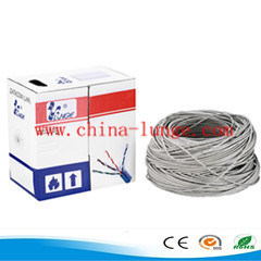 Cat5e Cable, CAT6 Copper Cable, LAN Cable, 305m/Carton