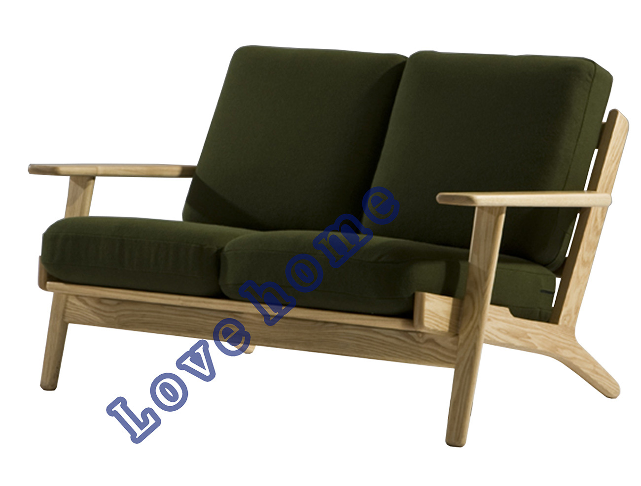 China Modern Dining Coffee Leisure Living Hans Wegner Plank Wooden Sofa Photos Pictures Made