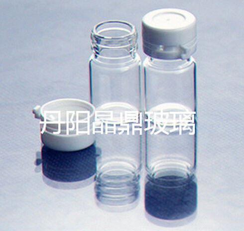 Mini Screwed Tulular Glass Bottle for Cosmetic Packing