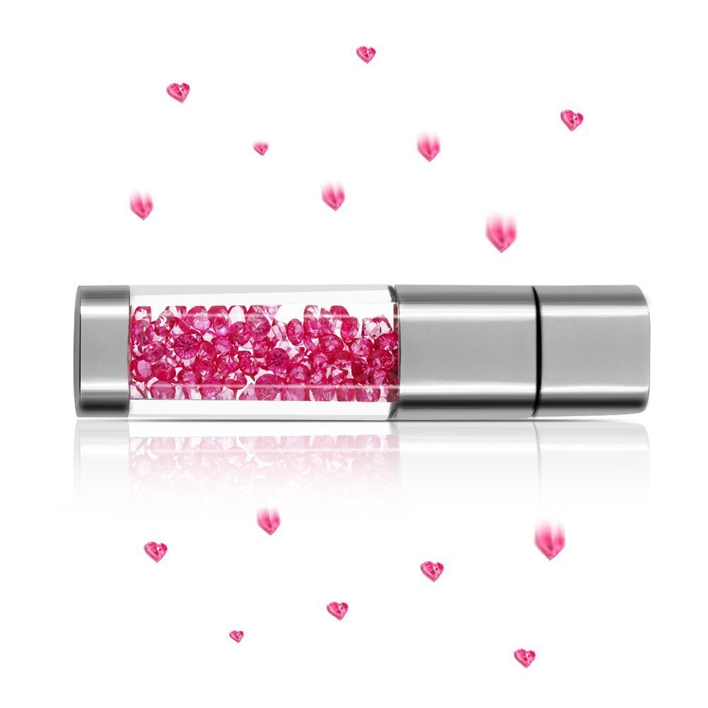 Luxury Gift Crystal USB Flash Drive Available up to 64GB