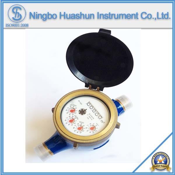 Multi Jet Dry Type Brass Water Meter Class B