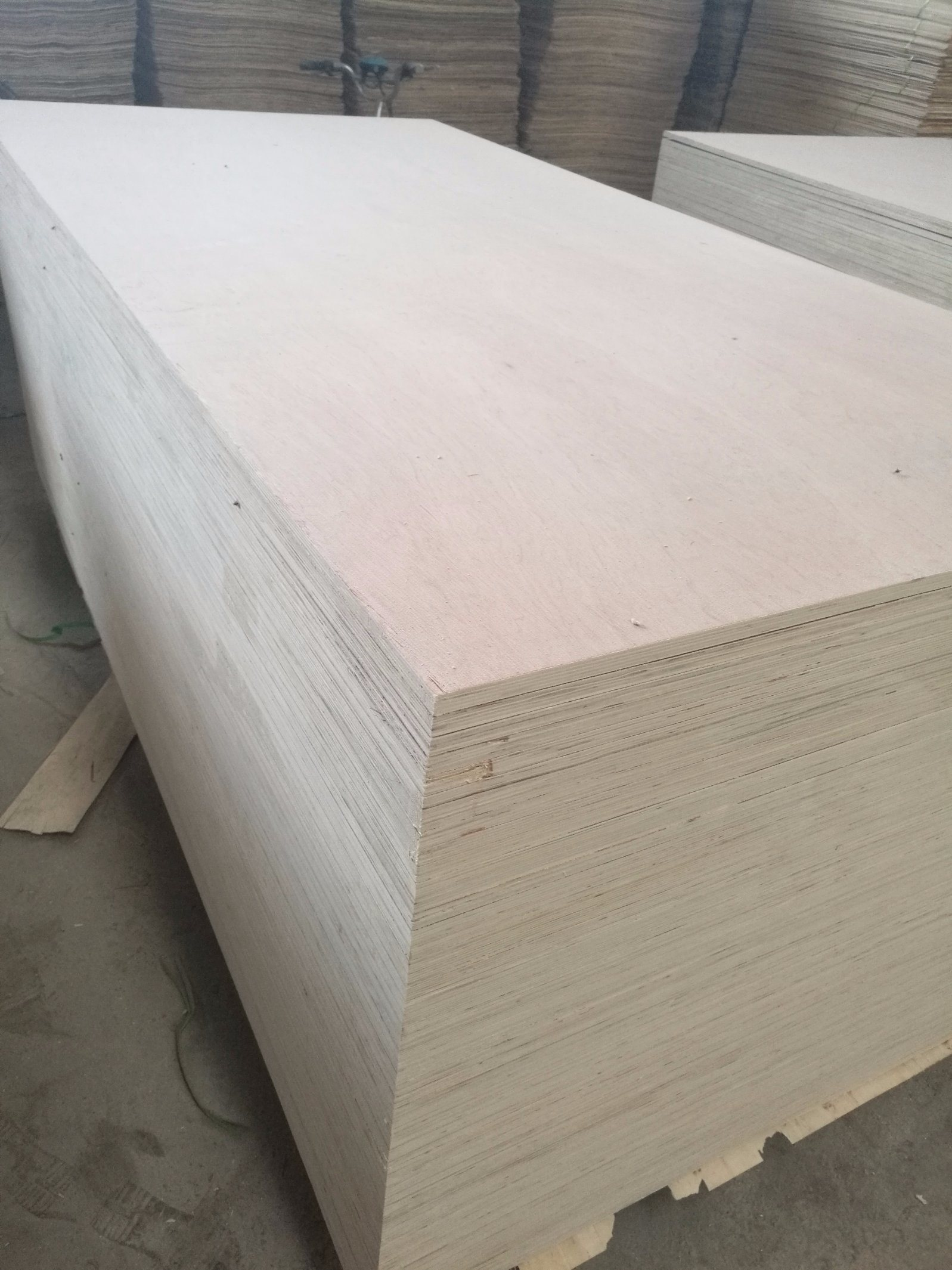 5-21mm Bintangor Face Poplar Core Plywood