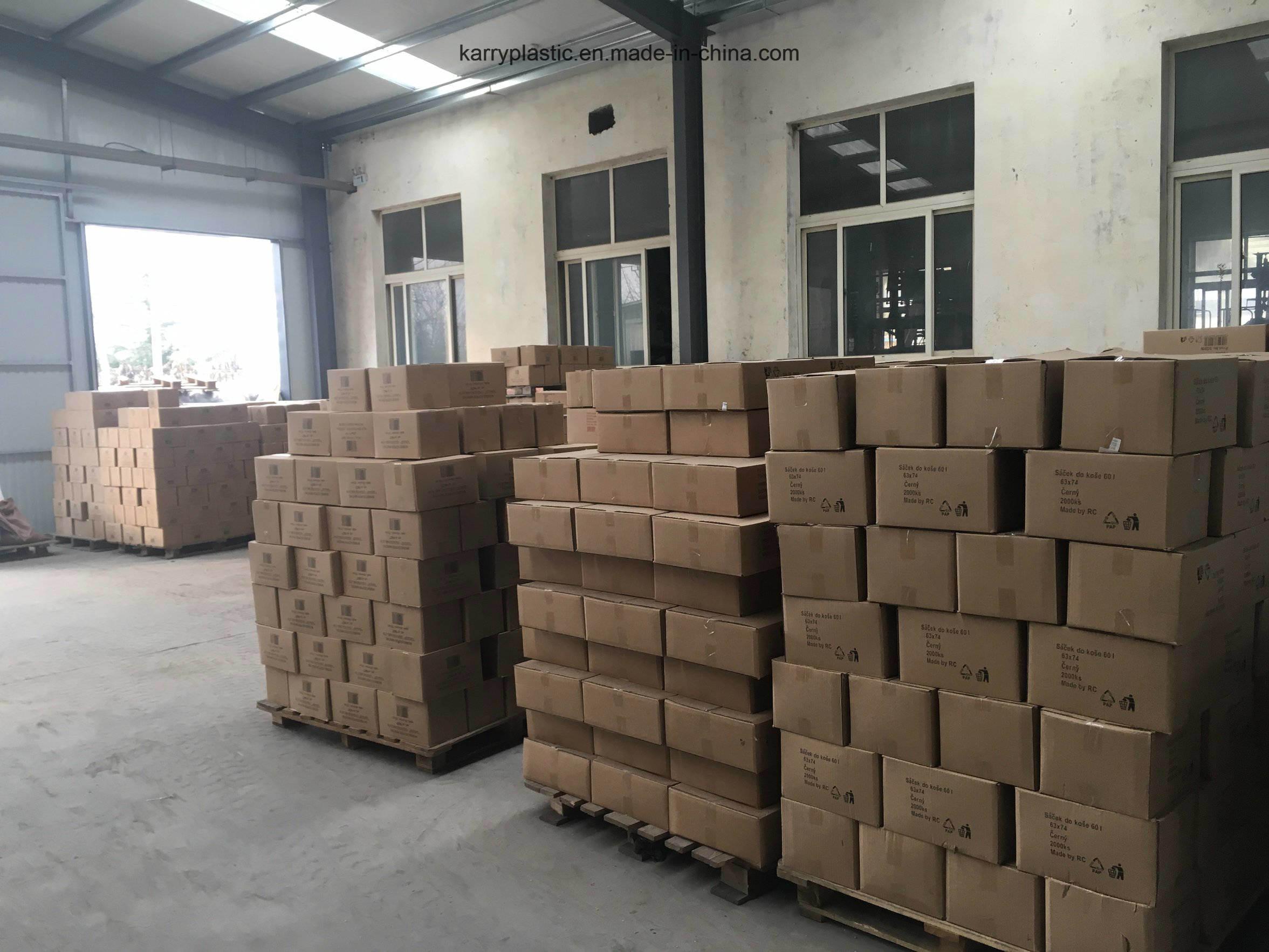 Plastic HDPE Garbage Bags Bin Liner