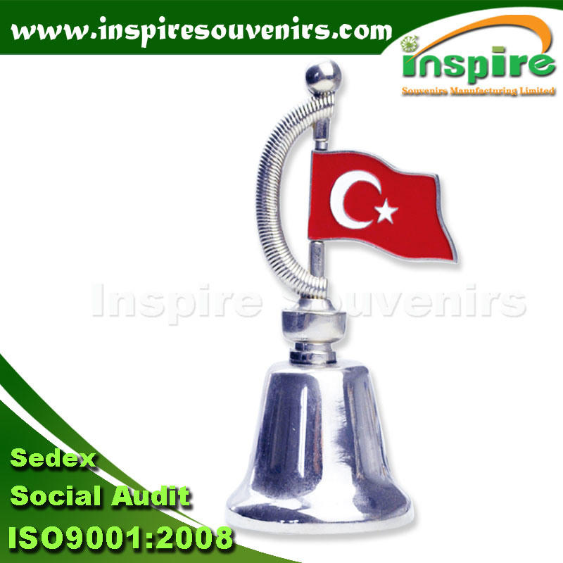 Flag Dinner Bell for Souvenir Gift (dB710)