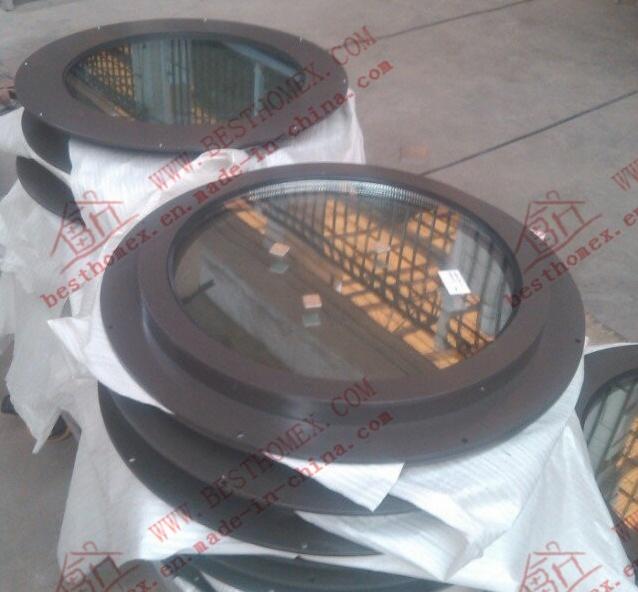 Unique Design of Aluminum Round Window (BHA-CWA35)
