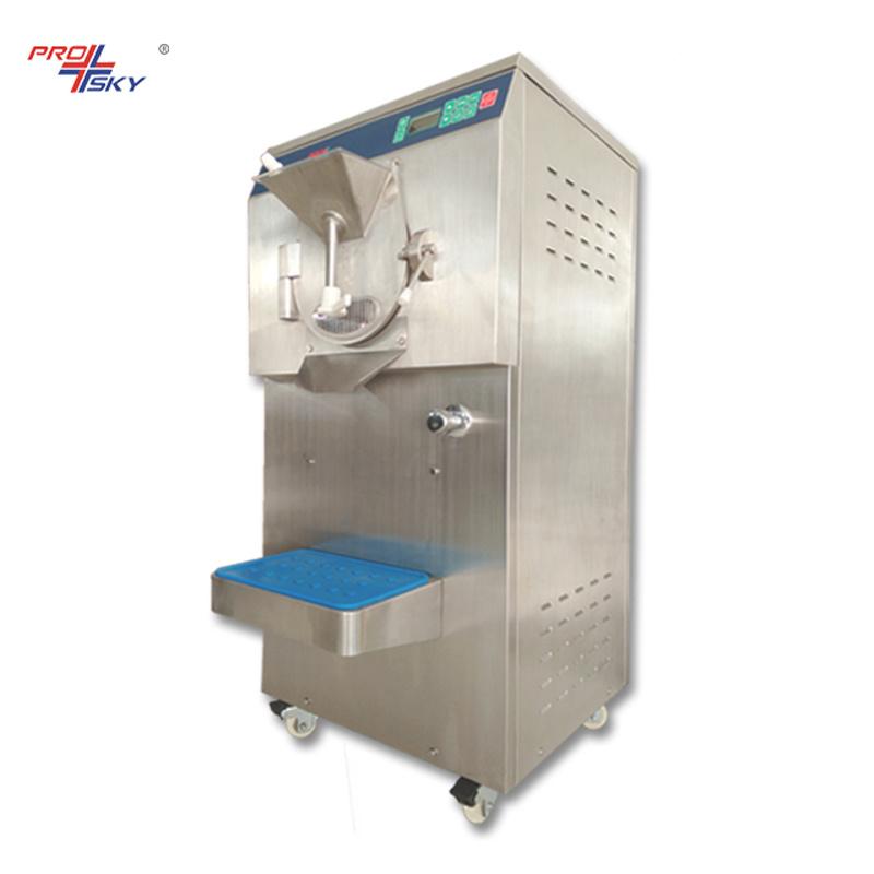 Italian Gelato Hard Ice Cream Maker Batch Freezer Machine
