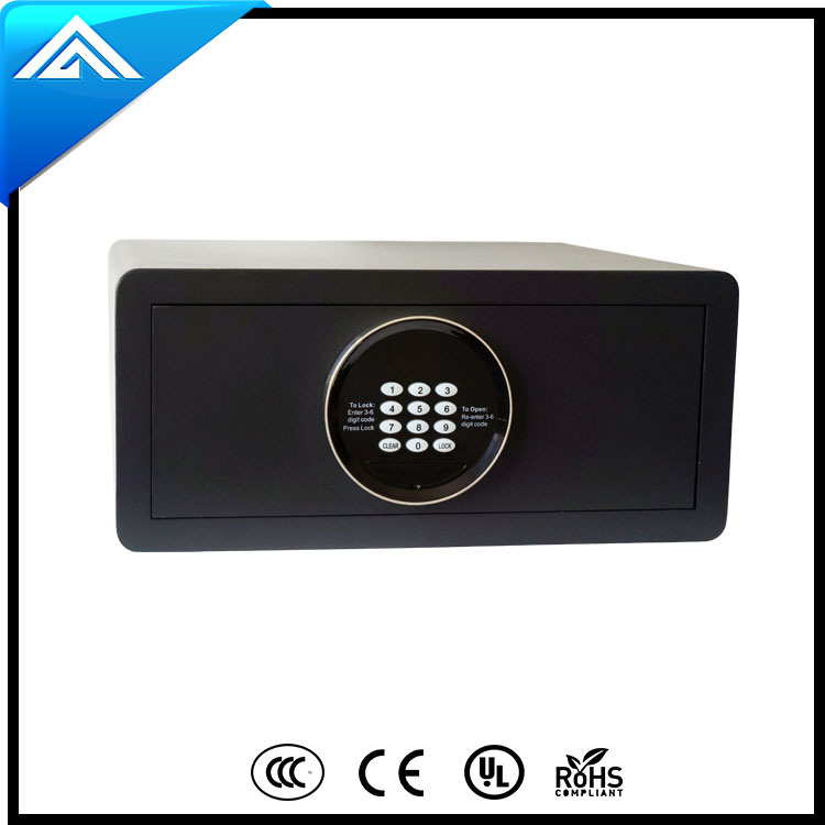 Laser Cutting Electronic Safe Box for Hotel and Home Use