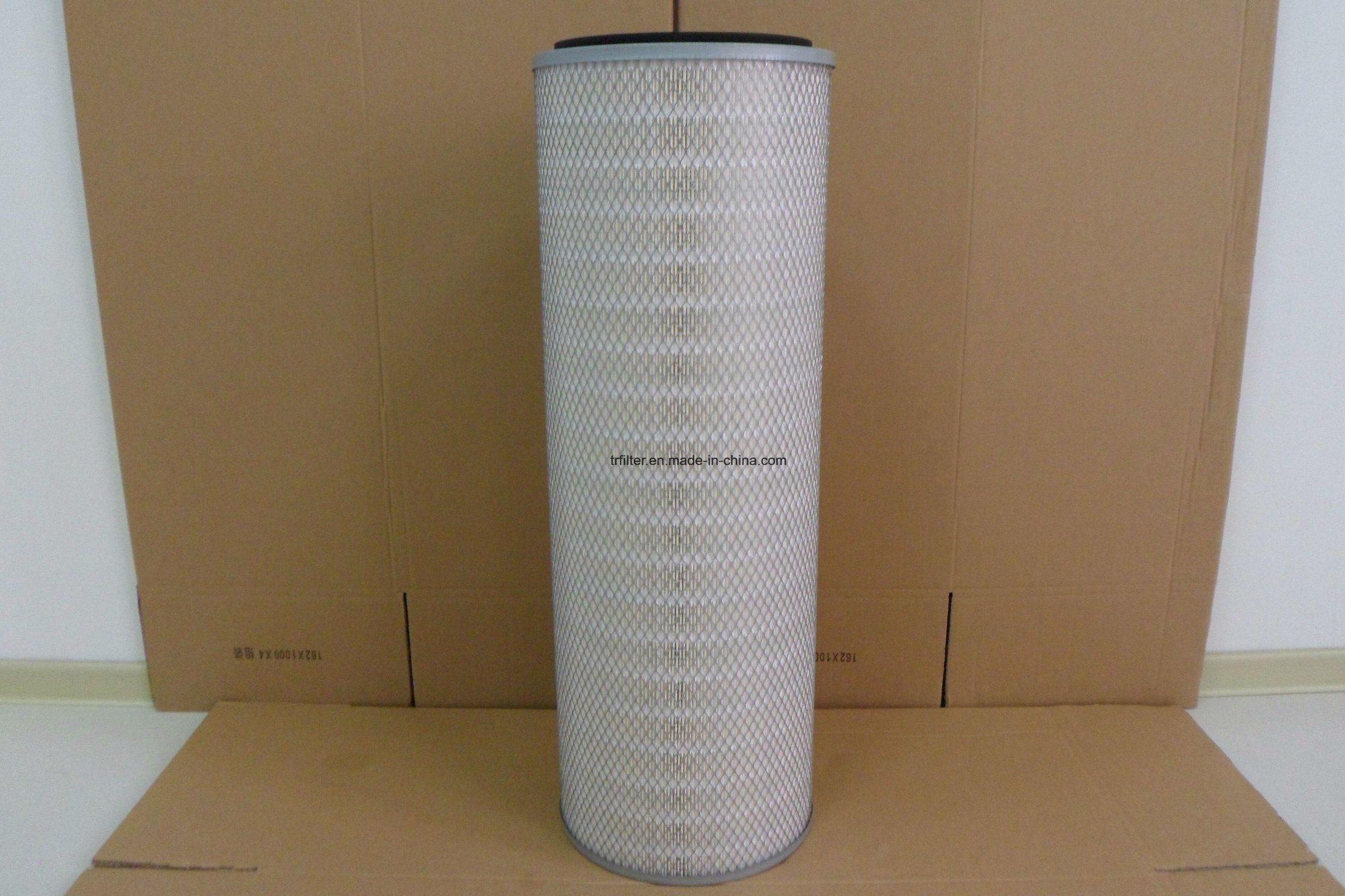 China Nanoweb Cellulose Gas Turbine Dust Collect Filter Cartridge