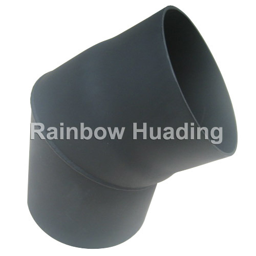 Carbon Steel 45 Degree Elbow for Chimney Stove