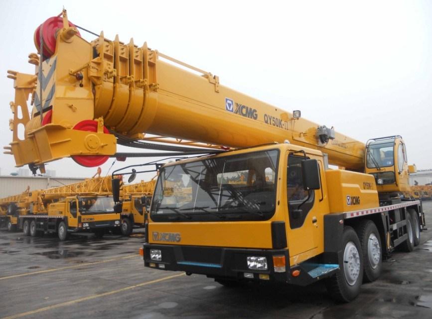 Mobile Crane 50 Ton Dimension : China ton mobile crane xcmg truck qy k ii