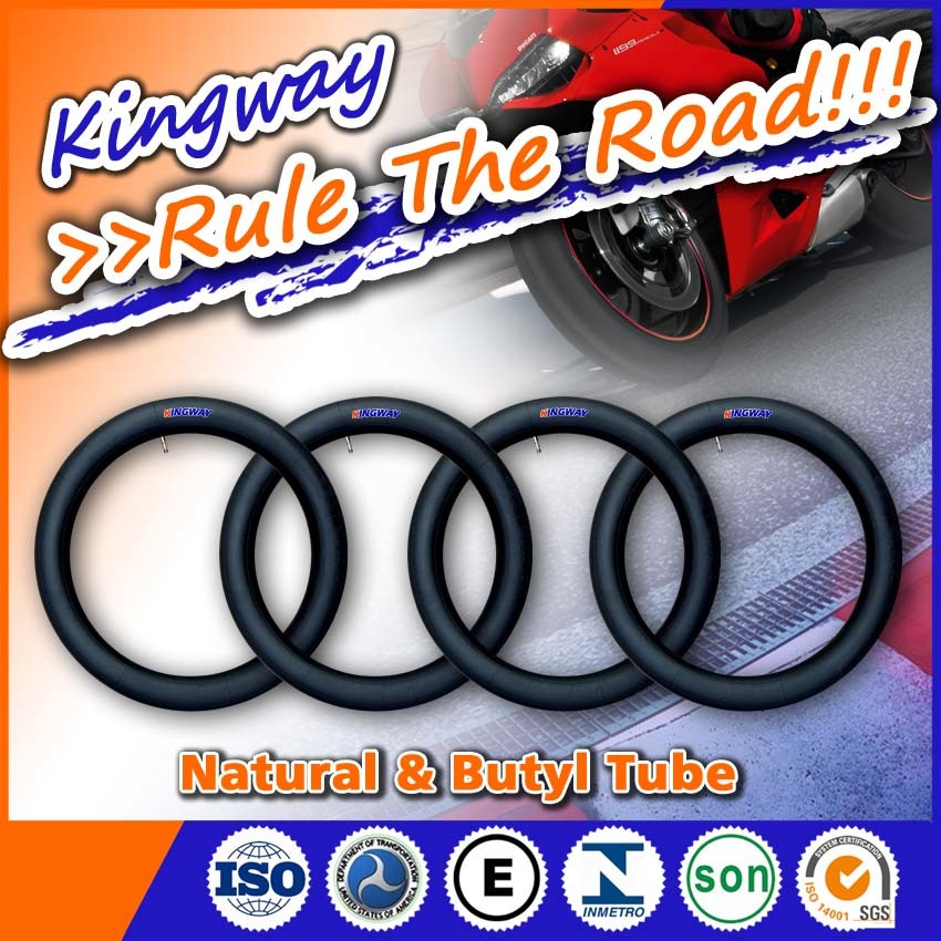 Natural Rubber and Butyl Motorcycle Inner Tube 4.00-12