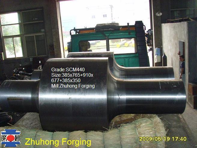 Forged Rollers (SCM440/34CrNiMo6)