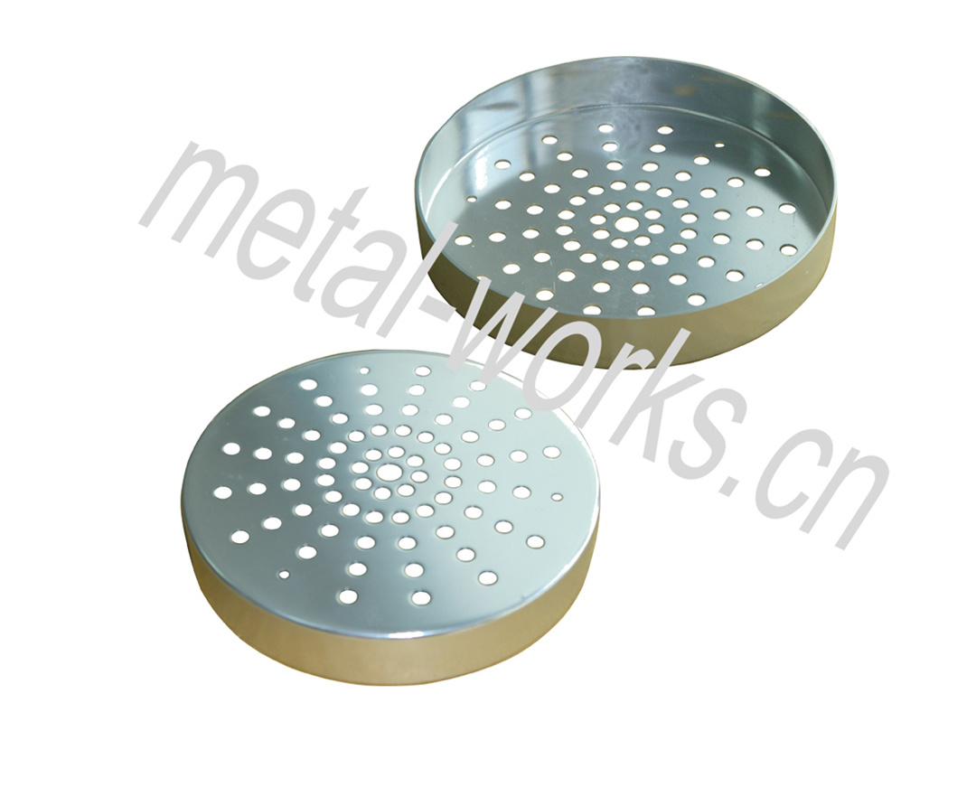 Perforated Aluminum Part