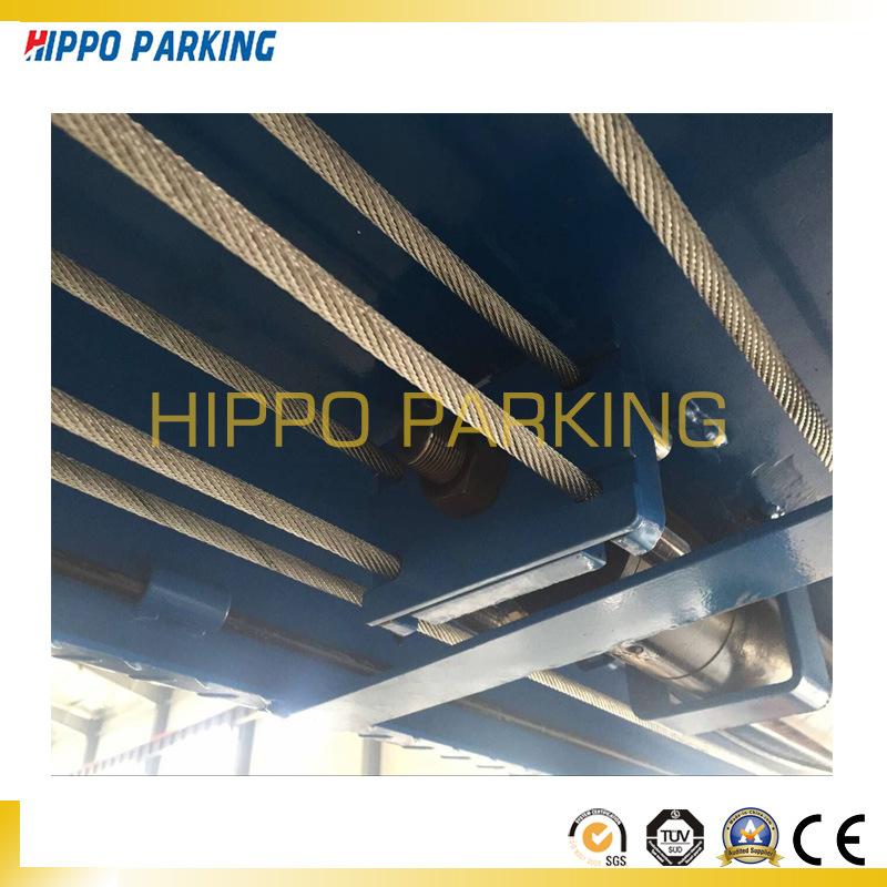 Hydraulic 2700kg Four Post Car Parking Equipment