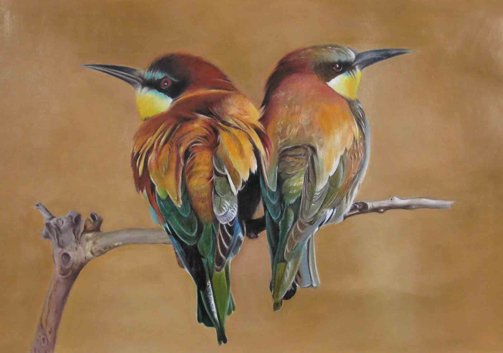 china oil painting birds china oil painting