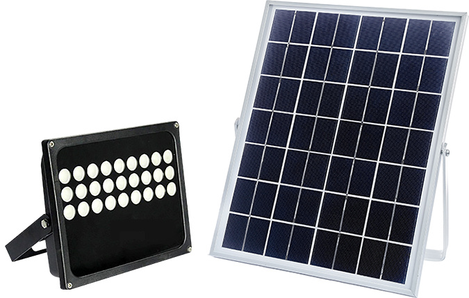 20W Solar PIR LED Flood Light