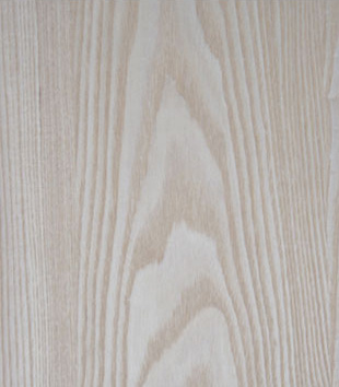 White ash plywood