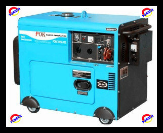 Diesel Generator (Silent Type 5kw, POK6700ST)